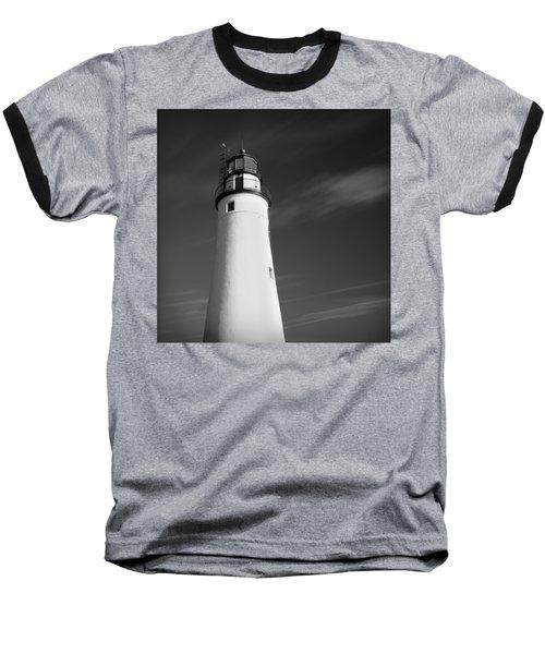 Baseball T-Shirt featuring the photograph Fort Gratiot Lighthouse by Gordon Dean II