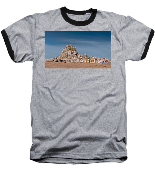 Baseball T-Shirt featuring the photograph Fort Irwin by Jim Thompson
