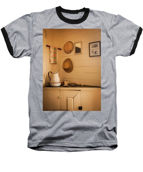 Fort Rock Museum Baseball T-Shirt