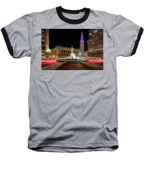 Fountain Of Eternal Life Baseball T-Shirt