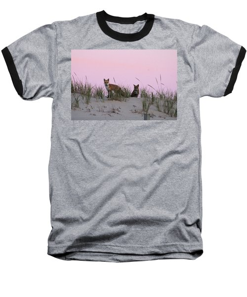 Fox And Vixen Baseball T-Shirt