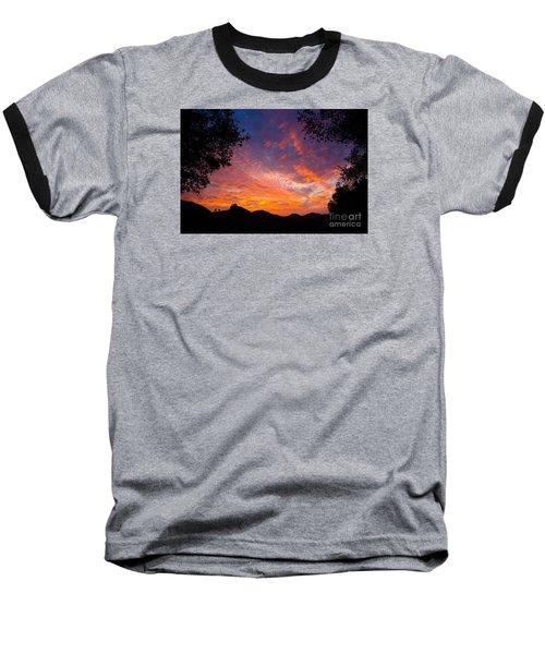 Framed Sunrise Baseball T-Shirt