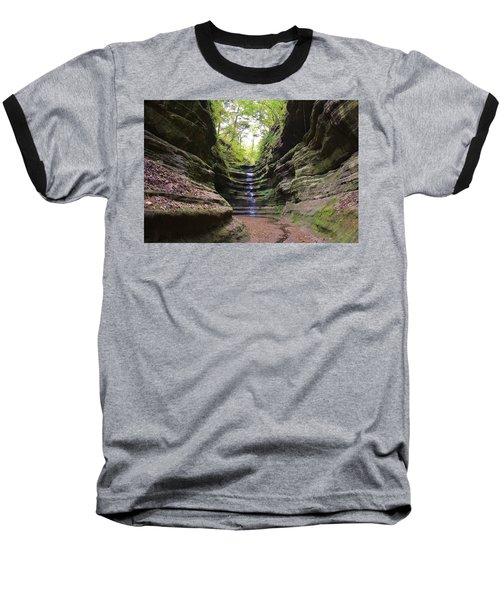 French Canyon Baseball T-Shirt by Bruce Bley