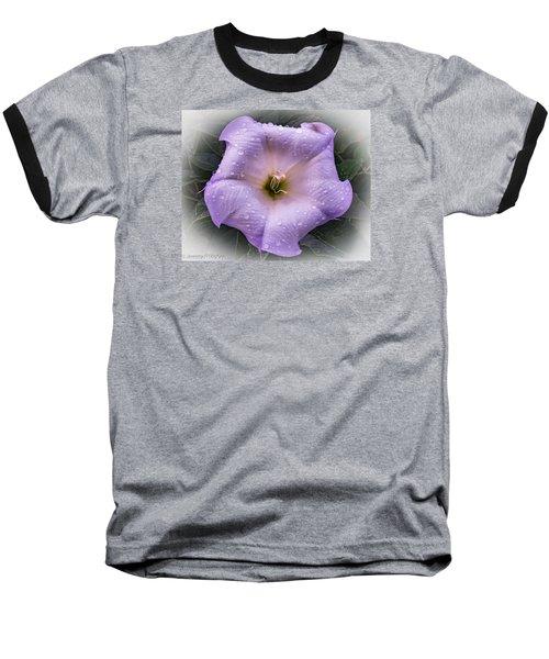 Freshly Showered Baseball T-Shirt by Jeremy McKay