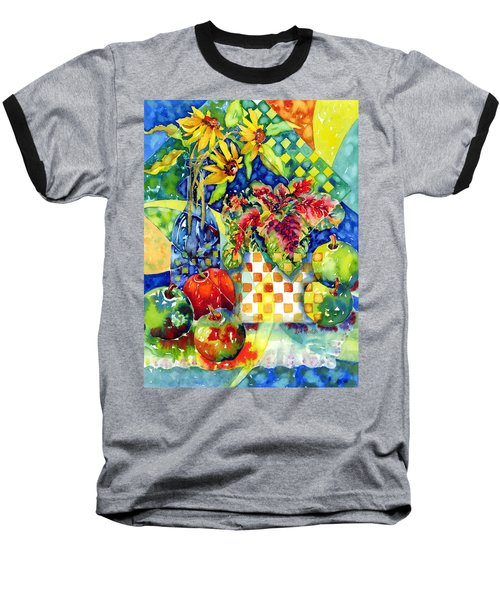 Fruit And Coleus Baseball T-Shirt