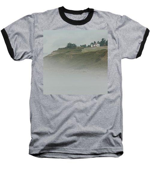 Ft. Casey Lighthouse Baseball T-Shirt by Tony Locke