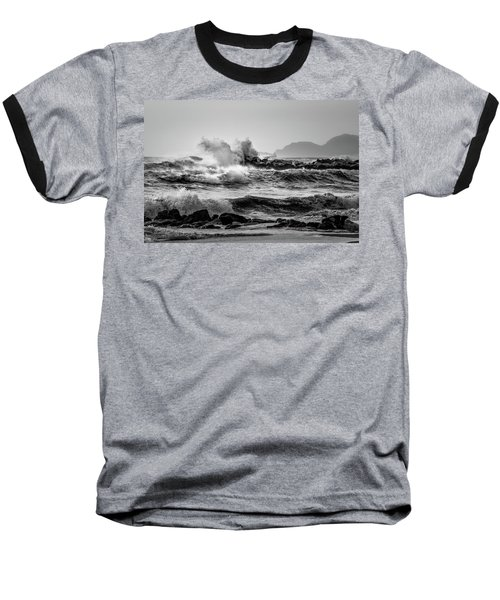 Winter Sea Baseball T-Shirt