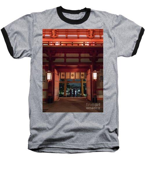 Fushimi Inari Taisha, Kyoto Japan Baseball T-Shirt