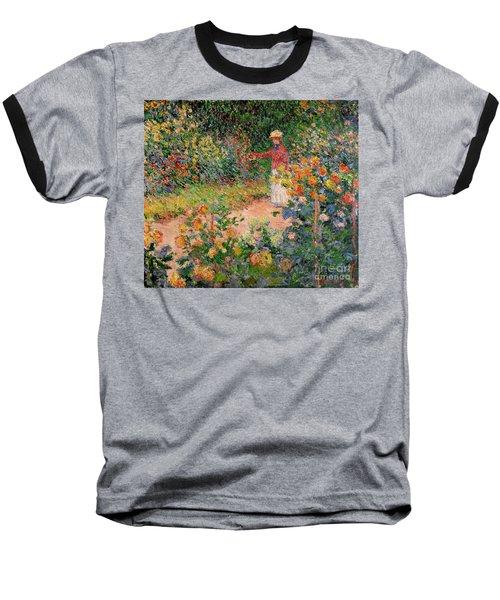 Garden At Giverny Baseball T-Shirt