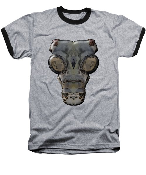 Gas Mask Baseball T-Shirt
