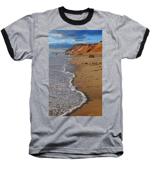 Gayhead Cliffs Marthas Vineyard Baseball T-Shirt