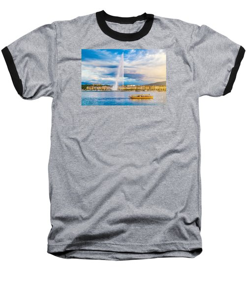 Geneva Baseball T-Shirt by JR Photography