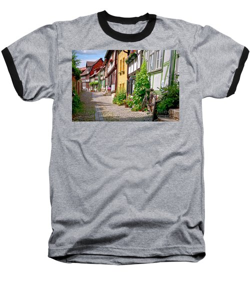 German Old Village Quedlinburg Baseball T-Shirt