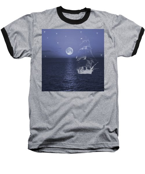 Ghost Ship Baseball T-Shirt