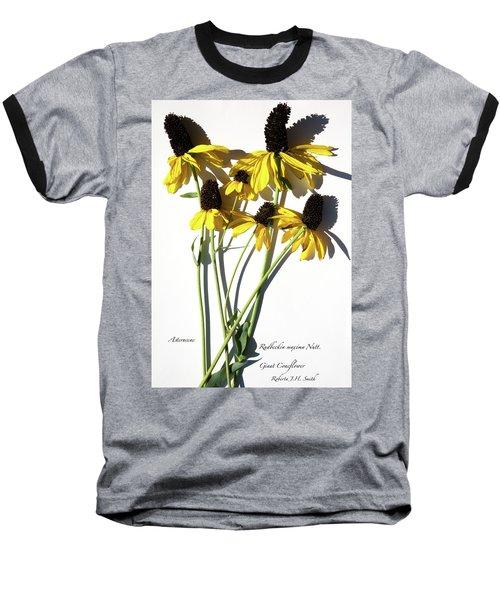 Giant Coneflower Baseball T-Shirt