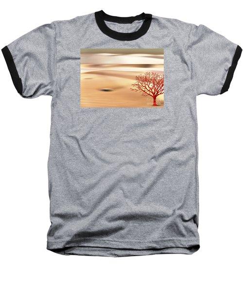 Global Warming Baseball T-Shirt by Klara Acel