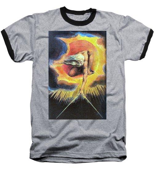 God As Architect Baseball T-Shirt