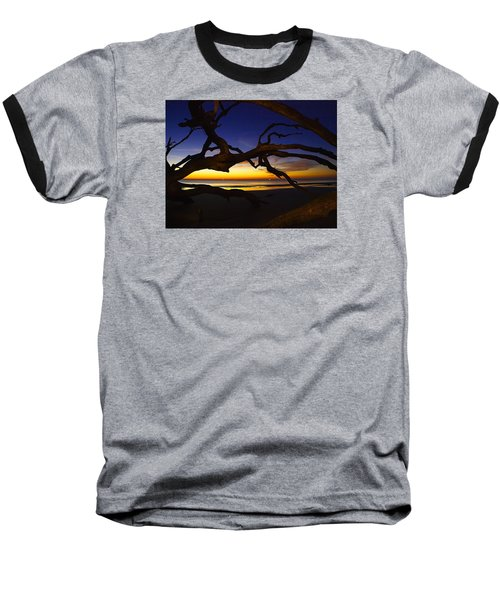 Golden Moments Baseball T-Shirt by Laura Ragland