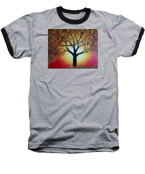 Golden Tree  Baseball T-Shirt