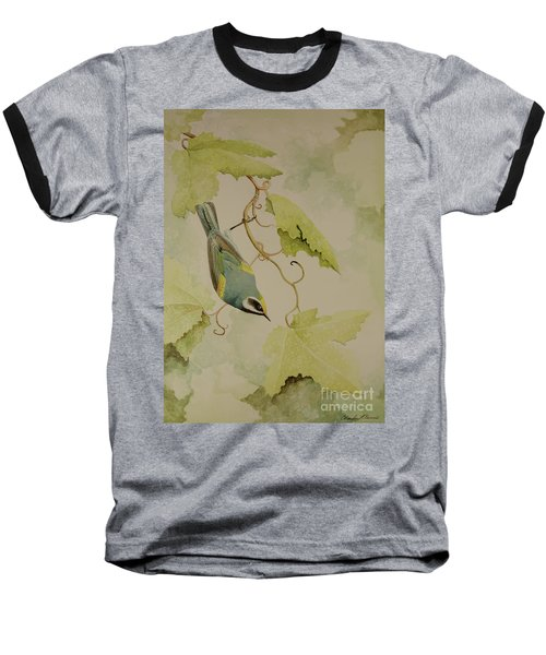 Golden-winged Warbler Baseball T-Shirt