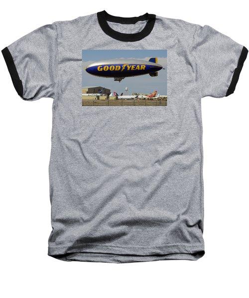 Goodyear Blimp Spirit Of Innovation Goodyear Arizona September 13 2015 Baseball T-Shirt