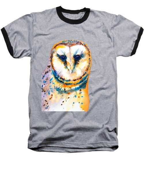 Gorgeous Barn Owl Baseball T-Shirt