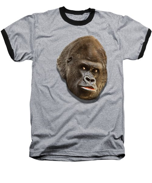 Baseball T-Shirt featuring the photograph Gorilla by Ericamaxine Price