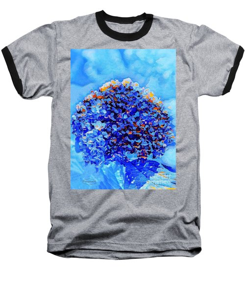 Got The Blues Baseball T-Shirt by MaryLee Parker