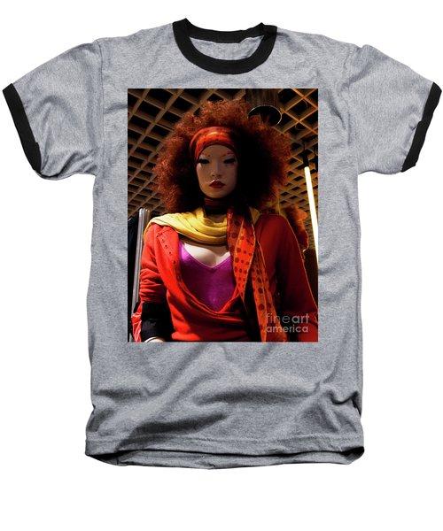 Colored Girl Baseball T-Shirt