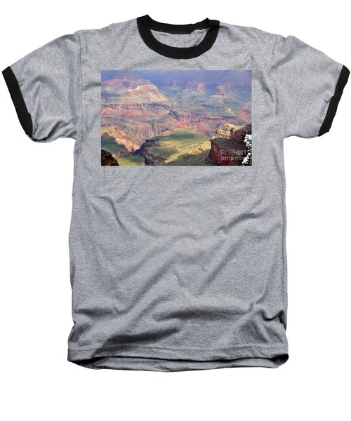 Baseball T-Shirt featuring the photograph Grand Canyon 2 by Debby Pueschel