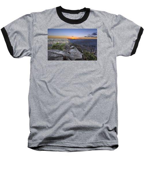 Grand Canyon Sunset Baseball T-Shirt