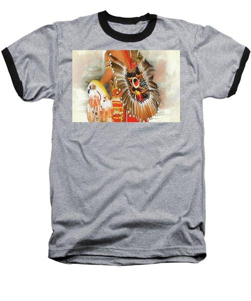 Grand Prairie Texas Pow-wow Baseball T-Shirt