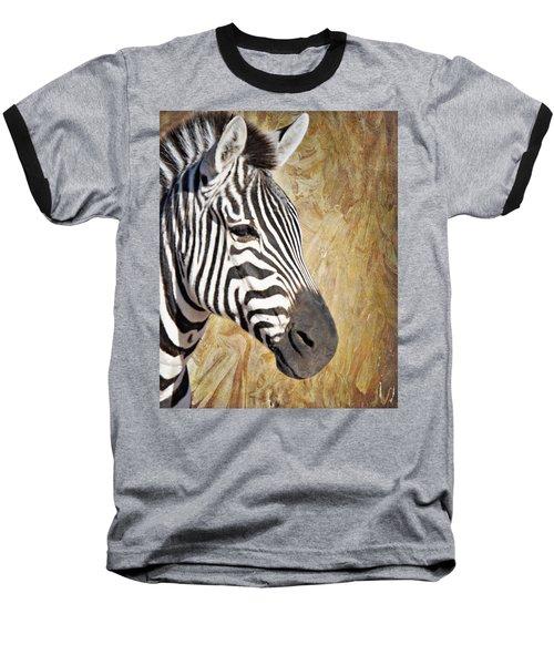 Grant's Zebra_a1 Baseball T-Shirt