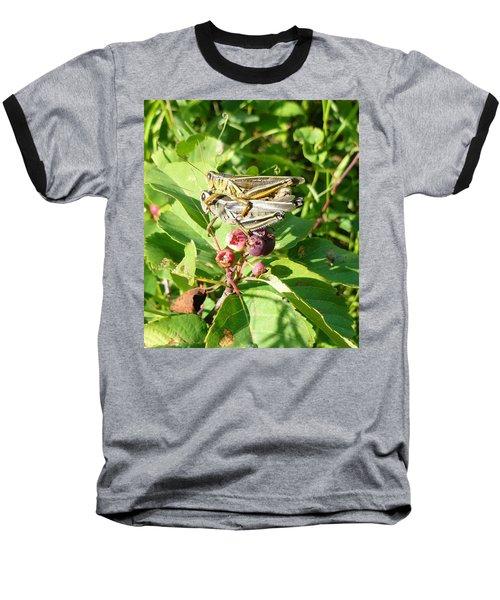 Grasshopper Love Baseball T-Shirt