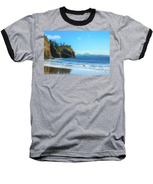 Great View Baseball T-Shirt by Robert Bales