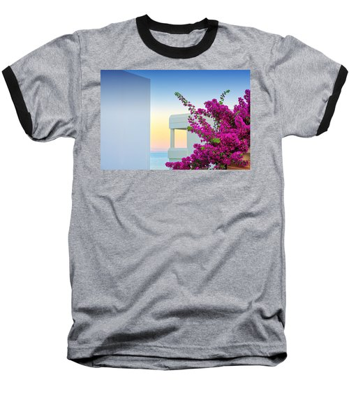 Greece 3  Baseball T-Shirt