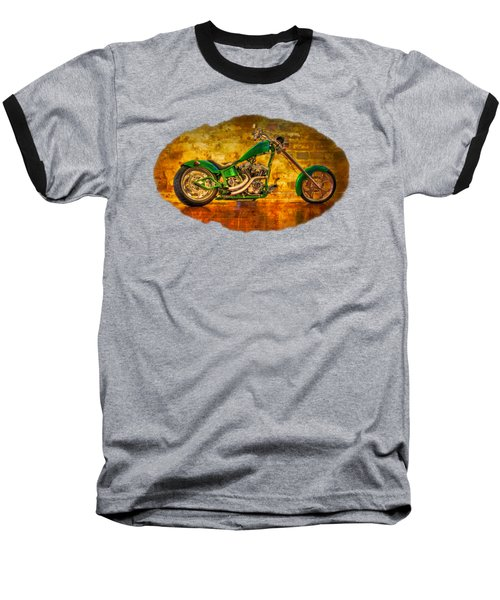Green Chopper Baseball T-Shirt