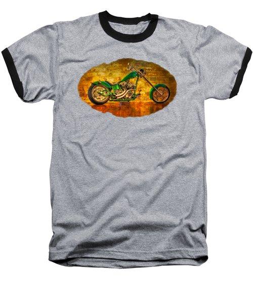 Green Chopper Baseball T-Shirt