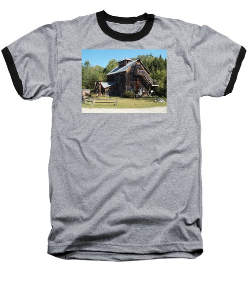 Grist Mill Baseball T-Shirt by Catherine Gagne
