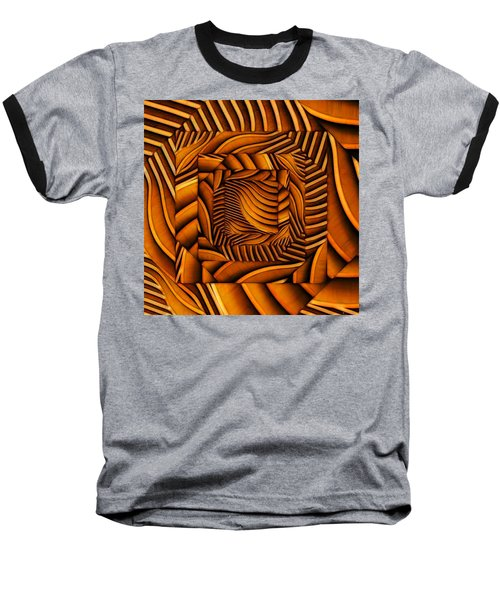 Baseball T-Shirt featuring the digital art Groovy by Ron Bissett