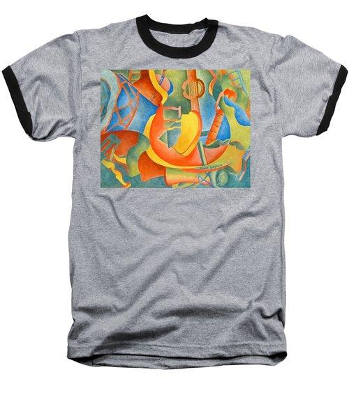 Grosse Guitare Baseball T-Shirt