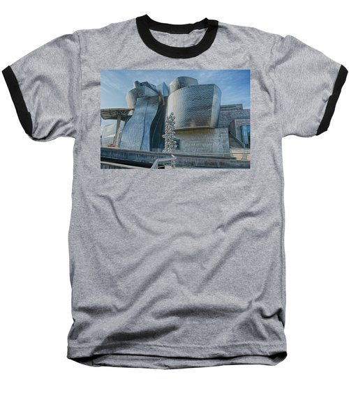 Guggenheim Museum Bilbao Spain Baseball T-Shirt by James Hammond