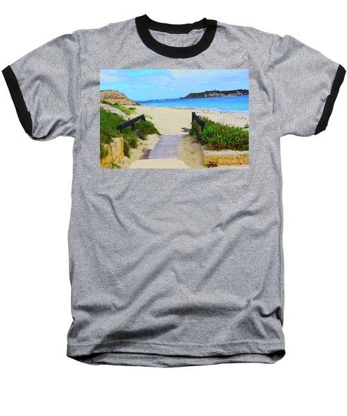 Hamelin Bay Baseball T-Shirt by Cassandra Buckley