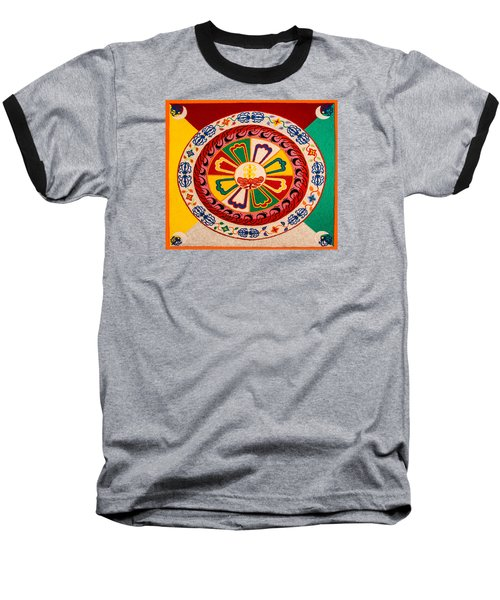 Happiness And Inner Peace Baseball T-Shirt