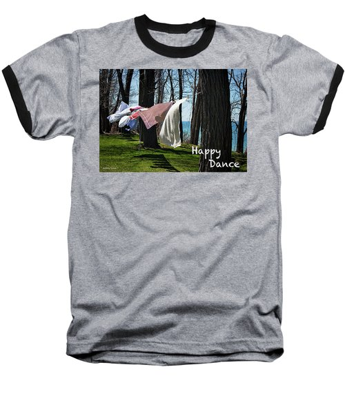Happy Dance Baseball T-Shirt