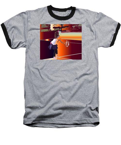 Happy Girl Baseball T-Shirt