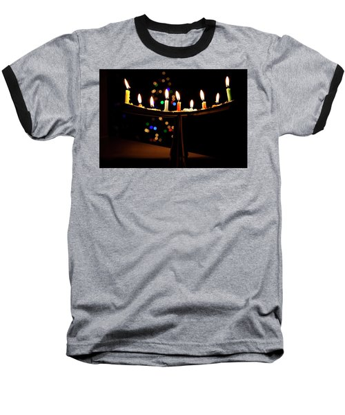 Baseball T-Shirt featuring the photograph Happy Holidays by Susan Stone