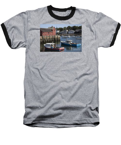 Harbor Boats Baseball T-Shirt