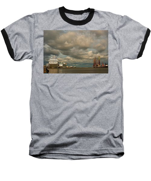 Harbor Storm Baseball T-Shirt