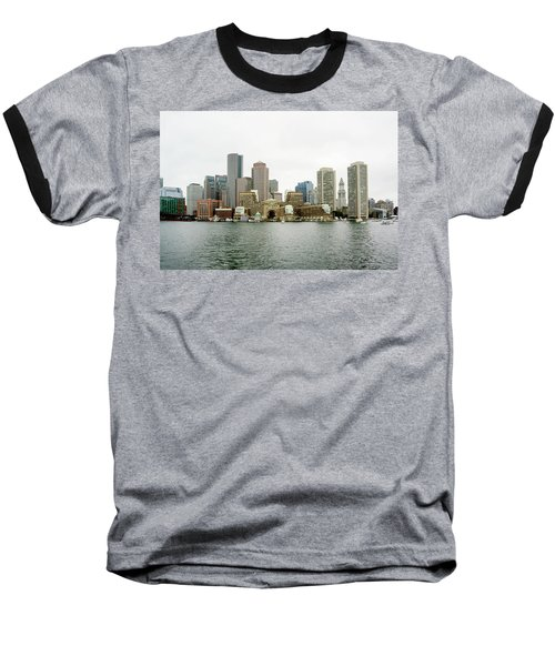 Harbor View Baseball T-Shirt by Greg Fortier